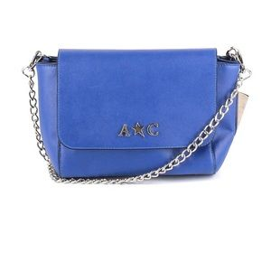 Andrew Charles Cross Body Removable Chain Blue